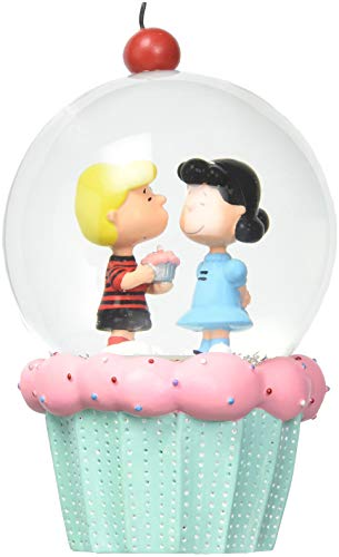 Department 56 Peanuts Schroeder and Lucy Cupcake -