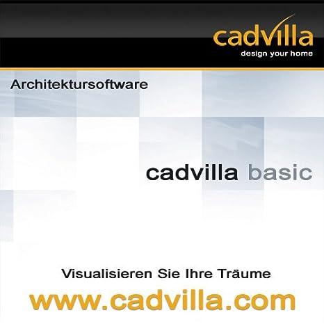 Cadvilla Basic   Architektur 2D/3D Hausplaner Software / Programm