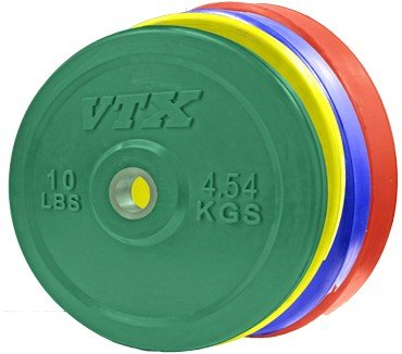 Olympic 2 in. Solid Bumper Plate with Steel Insert (35 lbs.)