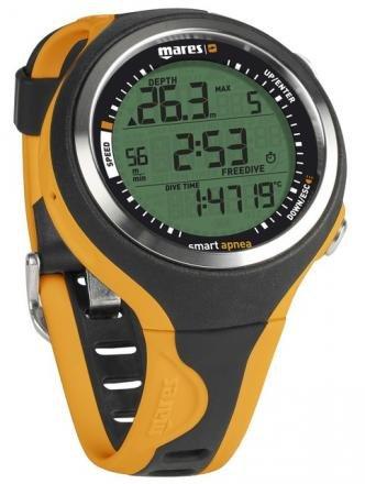 Mares Dive Watches - Mares Smart Apnea Free-Dive Computer - Black/Orange