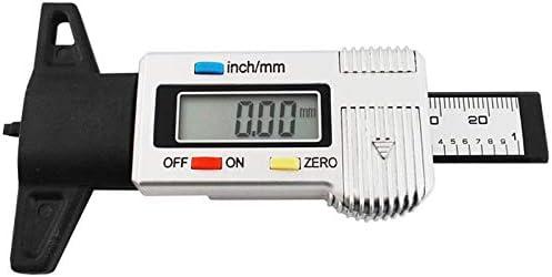 Digitaler Profiltiefenmesser 0,28-95mm Zoll+mm Angabe Klein Präzise Einfach 440