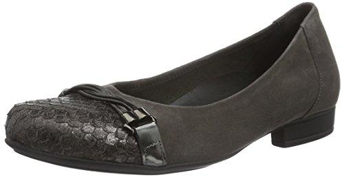 Gabor Shoes Comfort Sport, Bailarinas Para Mujer Gris (zinn 29)