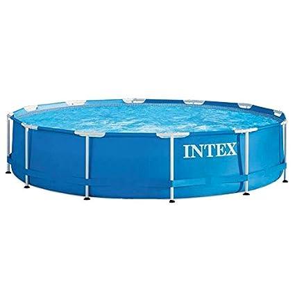 Intex 56994 - Metal Frame piscina desmontable de 6.503 litros, 366 ...