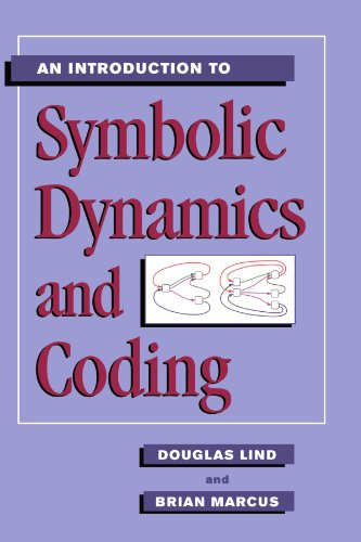 Book cover from An Introduction to Symbolic Dynamics and Coding by Douglas Lind