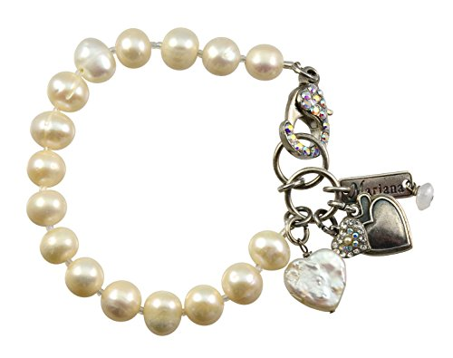 Mariana Silver Plated Crystal Tennis Bracelet With Encrusted Lobster Claw (Lobster Claw Hands Costume)