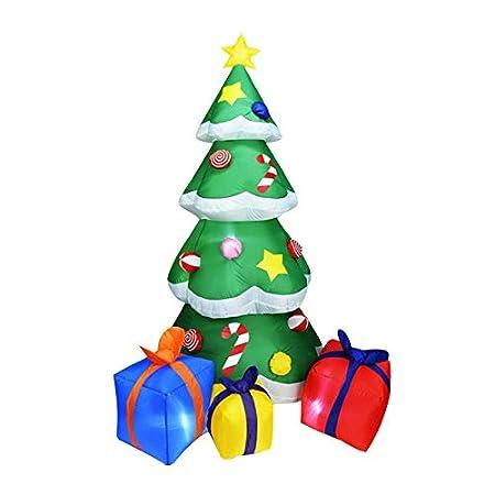Heetey - Muñeco de nieve hinchable para decoración navideña ...
