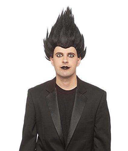 Enigma Wigs Men's Reaper, black one size fits -