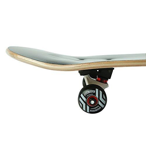 Senmi Puente 8 plies Maple Deck Double Kick Concave Hell