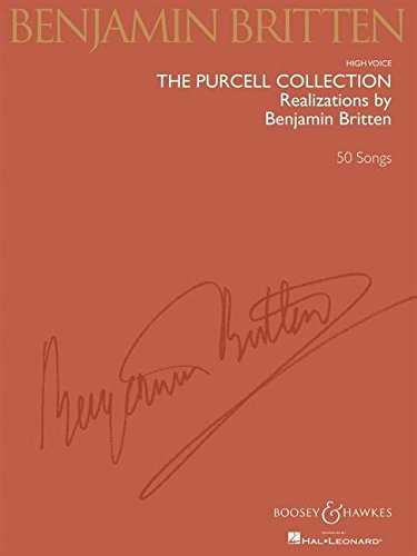Price comparison product image The Purcell Collection High Voice Realizations by Benjamin Britten