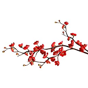 CYCTECH® Artificial Silk Cherry Blossom Branches Flowers Stems Fake Flower Arrangements for Home Wedding Decoration 4