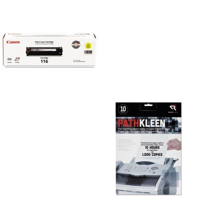 1977b001 Toner (KITCNM1977B001REARR1237 - Value Kit - Canon 1977B001 116 Toner (CNM1977B001) and Read Right PathKleen Printer Roller Cleaner Sheets (REARR1237))