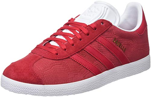 W Rouge rojfue Chaussures Femme De Gazelle Adidas 0 ftwbla Gymnastique rojfue qw74f5OHxn