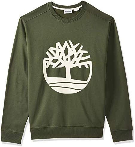 interferencia Restaurar Adecuado  TIMBERLAND Men's Core Tree Logo Crew Sweatshirt, Green, 2X-Large: Buy  Online at Best Price in UAE - Amazon.ae