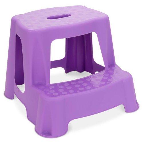Children's 2 Step Stool (Purple)
