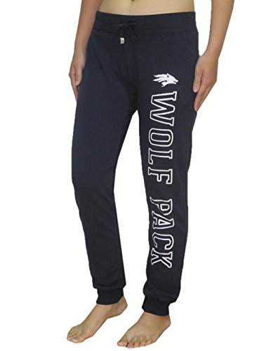 NCAA NEVADA WOLF PACK Womens Athletic Cuffed Track Pants / Sweatpants XL Dark - Shopping Outlets Nevada