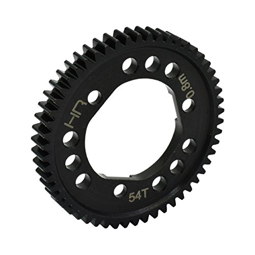 Hot Racing SSLF254D Steel Center Differential Spur Gear 54T 32P 0.8M (Metal Differential Gear)
