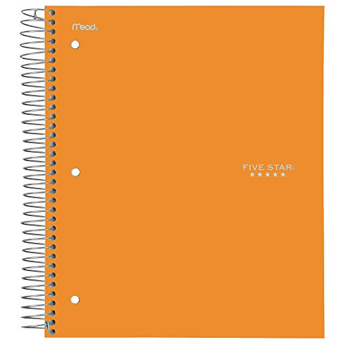 043100061120 - MEA06112 Trend Notebooks, Perforated, 5-Subject, 200/Sht, Assorted Colors carousel main 3