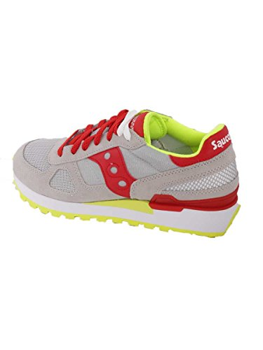 Saucony Shadow Original - Zapatillas de Running para Asfalto Unisex adulto 645(Grey/red)