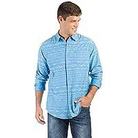 Camisa Estampada Azul