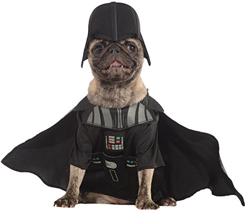 Darth Vader Costume For Dogs (Rubies Star Wars Darth Vader Pet Dog Halloween Costume X-small)