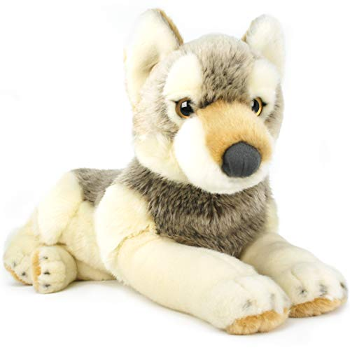 VIAHART Waldo The Wolf | 12 Inch Husky (Tail Measurement not Included!) Stuffed Animal Plush Dog | by Tiger Tale ()