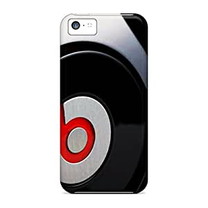 Protector Hard Phone Cases For Iphone 5c With Customized Colorful Beats By Dr Dre Pictures TimeaJoyce