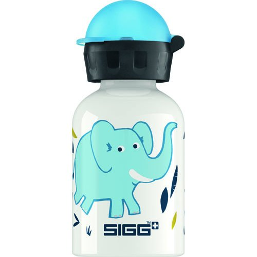 (Sigg Water Bottle - Elephant Family - 0.3 Liters)