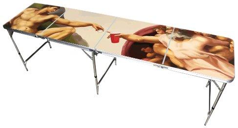 Amazoncom Sistine Chapel Beer Pong Table Feet Premium HD - Custom vinyl decals for beer pong tables