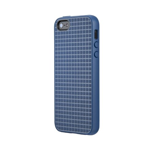 Speck Toughskin Iphone Case (Speck Products PixelSkin HD Rubberized Case for iPhone 5/5S/SE - Harbor Blue)