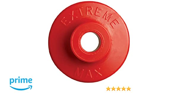 48 Pack Round Plastic Backers Red