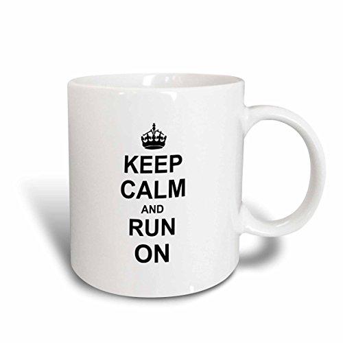 3dRose mug_157767_1 Running Humorous 11 Ounce