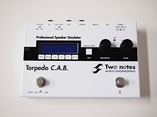 【楽天スーパーセール】 Two C.A.B. Notes Two Torpedo C.A.B. スピーカーキャビネットシミュレーター Notes B07BXWFZ9Z, ベッツジャパン:141edd42 --- catconnects-ie.access.secure-ssl-servers.org