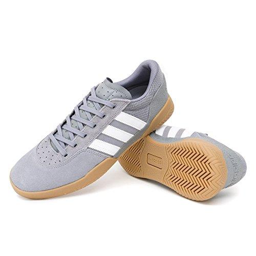 adidas City Cup Shoes - Grey/White/Gum Grey Three F17/Ftwr White/Gum4 CQH5F1