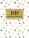 Weekly Planner 2019: 12 Months Plan Notebook