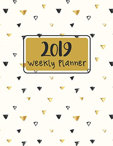 Weekly Planner 2019: 12 Months Plan Notebook