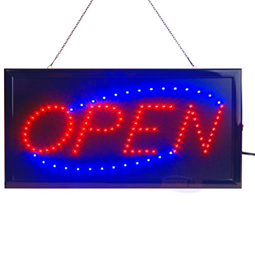 LED Open Sign by Ultima LED: Electric Light Up Sign for Business Displays | 19