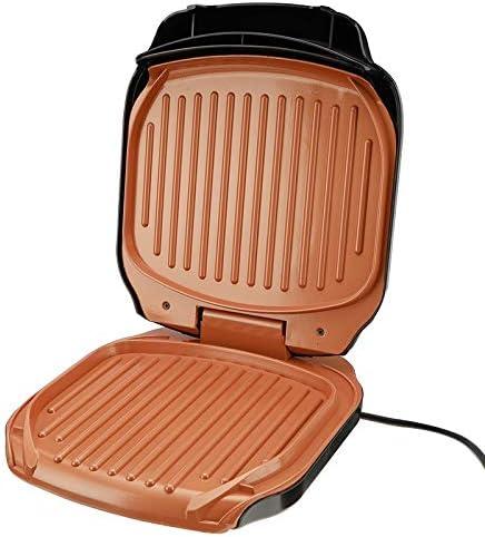 Barbecue électrique 220 v gril 900 W ménage Machine à Barbecue gril plaque de cuisson électrique gril électrique poêle à viande grillée sans fumée