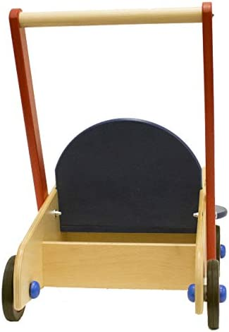 41 cR473REL. AC - HABA Walker Wagon - First Push Toy With Seat & Storage For 10 Months And Up