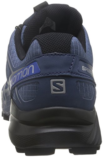 Salomon Männer Speedcross 4 Trail Runner Slateblue / Schwarz / Blau Yonder