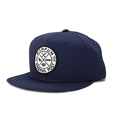 Wampum Trading Post Snapback Hat Navy