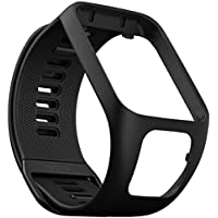 TomTom Spark GPS Fitness Watch Accessory Strap (Black, Small)