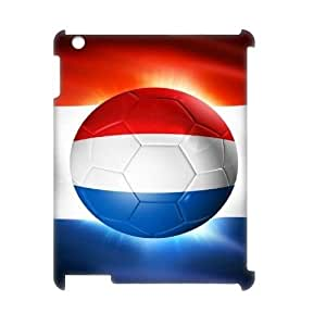 Lycase(TM) Football Soccer Flag Personalized 3D Phone Case, Football Soccer Flag Ipad 2,3,4 3D Cover Case
