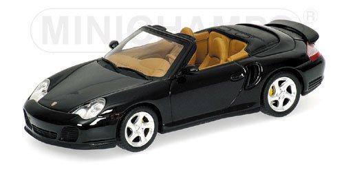 Porsche 911 Turbo Descapotable (996), verde oscuro met. , 2005, Modelo de Auto, modello completo, Minichamps 1:43: Amazon.es: Juguetes y juegos