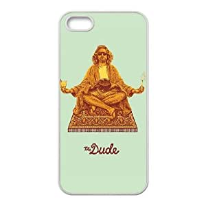 iPhone 5 5s White Cell Phone Case The Big Lebowski TGKG595989