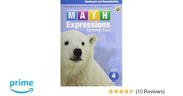 Amazon math expressions homework remembering grade 4 vol amazon math expressions homework remembering grade 4 vol 1 9780547824246 karen c fuson books fandeluxe Gallery