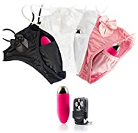Womens Remote Control Vibrating Panties with JOLT! as seen on The Ugly Truth (3 Pairs, Fits All)