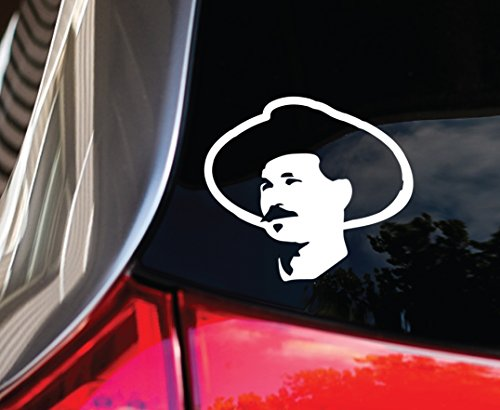 (DOC HOLIDAY silhouette car DECAL 5