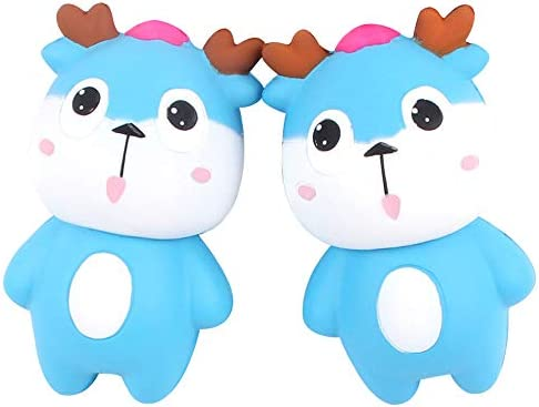 Amazon.com: Ulanda Jumbo Squishies Deer - Juguete para niños ...