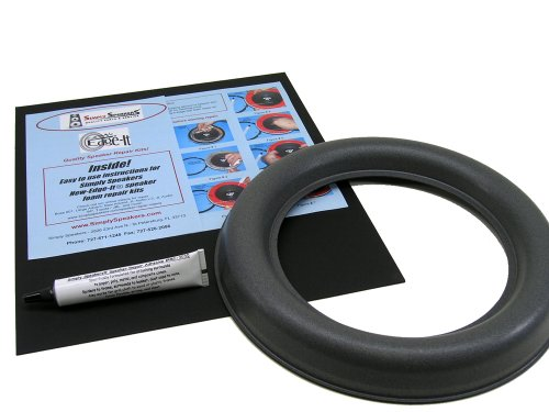 JL Audio 10W7 Speaker Foam Edge Repair Kit, 10'', 10W7, Extra Wide Roll, FSK-10JL-W7-1 (Single) by Simply Speakers