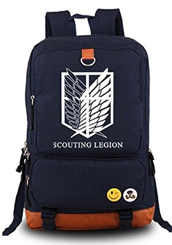 Attack on titan Shingeki no Kyojin Anime Cosplay Backpack Schoolbag - 7